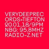 VERYDEEPRECORDSxTIEFTON 20/01/2018 @ RADIO Z