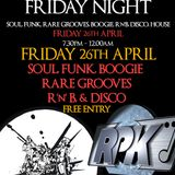 Rapattack Funky Friday @ the Mau Mau Bar (26th April 2019) PART TWO