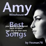 AMY WINEHOUSE BEST SONGS (you know i'm no good, back to black, tears dry on ther own, rehab)