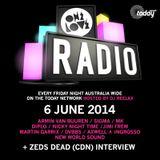 ONELOVE Radio - 6 June 2014 + Zeds Dead Interview