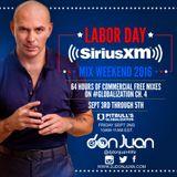 Pitbull Globalization Labor Day Weekend Mix  2016 / Sirius XM Radio