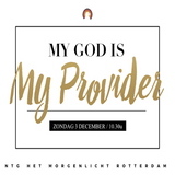 """My God is my Provider"" - Pastor Roy Manikus 3-12-2017"