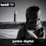 junkie digital // twidl - txl // 7th januari 2018