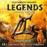 Multigroove presents Legends; Mixed by DJ Franky Jones