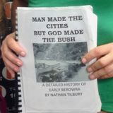 "Nathan Tilbury on his new book ""Man Made The Cities but God Made The Bush"""