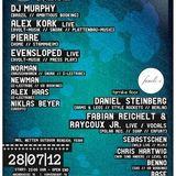 DJ Murphy - Live @ E-lectribe, Kassel, Alemanha (28.07.2012)