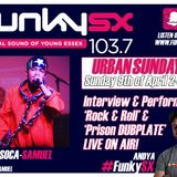 Andy A urban Sunday Podcast with Soca Samuel live performance + interview 09 04 17