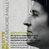 2013 09 18 Vernissage Exposition Delbo Mairie Paris 5e