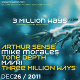 Mike Morales - 3 Million Ways Radio Show - Christmas Guest Mix -  26 - 11- 2011