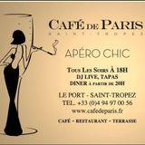 Apero Chic @Cafe de Paris (saint tropez)