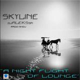 "SKYLINE - djalekssn radio show ""A NIGHT FLIGHT OF LOUNGE"""