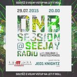3 DECKS GUEST MIX for DNB SESSION @ SEEJAY RADIO by JED1 KNIGHTZ