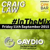 Gaydio #InTheMix - 11th September 2015