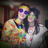 Hippie and Disco for Audrey birthday