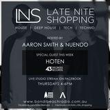 LNS: Aaron Smith & Nuendo w/ Hoten [43 Degrees Records] 10th Nov 2016