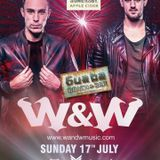Warm up for W&W hour 2 at the beach 'Guaba' 17th July 16