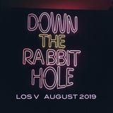 LOS V - DOWN THE RABBITHOLE MIX (AUGUST 2019)