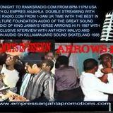 DJ EMPRESS ANJAHLA BROADCAST OF KING JAMMYS VERSES AFRICAN SYMBOL VS ARROW VS 1987 EXCLUSIVE INTERVI