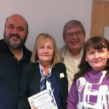 Breakfast  with Marc and Liz (guests Cllrs. Ken Jones and Susan Snape)