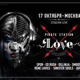 Sinister Souls – Live @ Pirate Station Love MSK (17.10.2015)