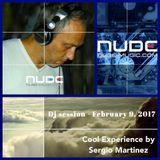 "Sergio Martínez presents ""Cool Experience""- NUBE MUSIC Radio - Dj session - February 9, 2017."
