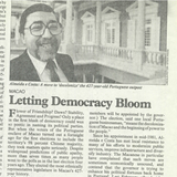 1984, o ano em que a política mudou em Macau