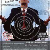 Tu Cerebro Creativo, taller impartido por Alan Chávez en Centro Cultural Santa Cruz. 24/Julio/2015