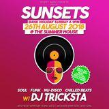 DJ Tricksta Sunsets August 2018 Disco House Mix