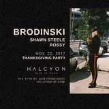 "Brodinski at ""Thanksgiving Party"" @ Halcyon SF (San Francisco - USA) - 22 November 2017"