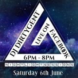 Dj DirtyGents Night Light Sessions Debut LIVE Facebook show