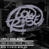LowRise Radio w/TMSV 05/12/2015