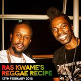 #ReggaeRecipe - 12/02/18 (Reggae / Dancehall / Bass / Bashment / Afrobeats)