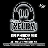 DJ Neuby - Deep House Mix (Januar 2016)