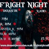 Fright Night Radio 21st July Ant Dub