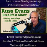 Russ Evans Breakfast Show Sunday 20th August 2017