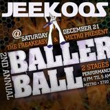 Jeekoos based on a live set @ FreakEasy Ballers Ball 2, Chicago, 12.21.2013