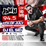 Jamn 94.5 4th Of July Mixshow Weekend Saturday 07.01.17