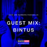 Days Are Numbers Podcast 05 // Guest Mix: Bintus