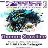 10.02.2012 - Thomas Coastline Live @ Trancefusion Special Club Edition - SasaZu Prague
