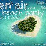 DJ !nes Open Air Beach Party - Kap 30.05.2015
