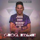 "Dj Groovelyne - ""House Every Weekend"" October Mix ☆ 2015 ☆"