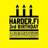 Shatterling's Harder.fi 3rd Birthday Party Live Mixtape