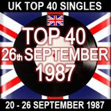 UK TOP 40 20-26 SEPTEMBER 1987
