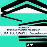 "SEBA LECOMPTE @ OPENINGSWEEKEND ""DE KROOK"""