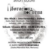 Presentación del single Elysion de Aeon Sable - 16 enero 2016 @ El Asesino (Valencia)