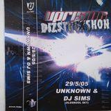 DJ Simz & M.c Space @ Uprising v Dizstruxshon @ The Adelphi 29 th May 2005