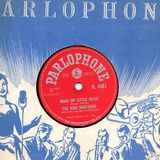 Brother Acts on 78s The Kipper the Cat show, Cambridge 105 Radio Jan 1st 2018