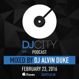 DJ Alvin Duke - DJcity UK Podcast - 23/02/16