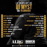 ALDGSHOW de DJ MYST aka LA LEGENDE sur GENERATIONS FM Emission du 15 Janv 2017 Part I