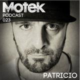 Motek Podcasts 023 - Patricio